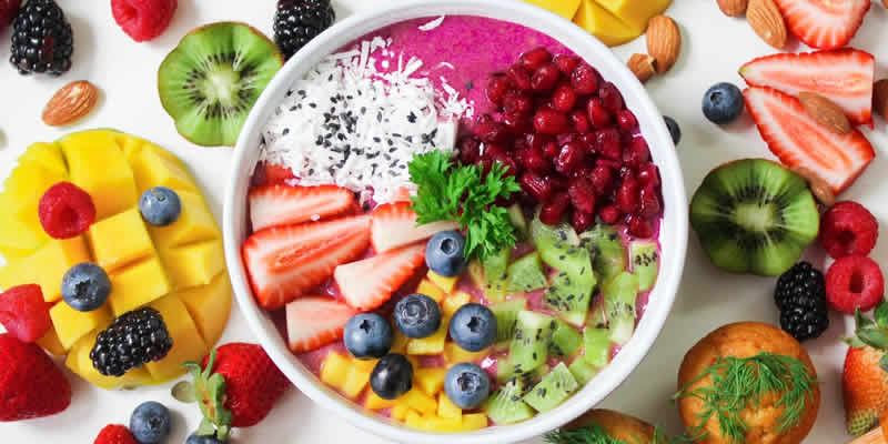 Display of Nutrition Bowl