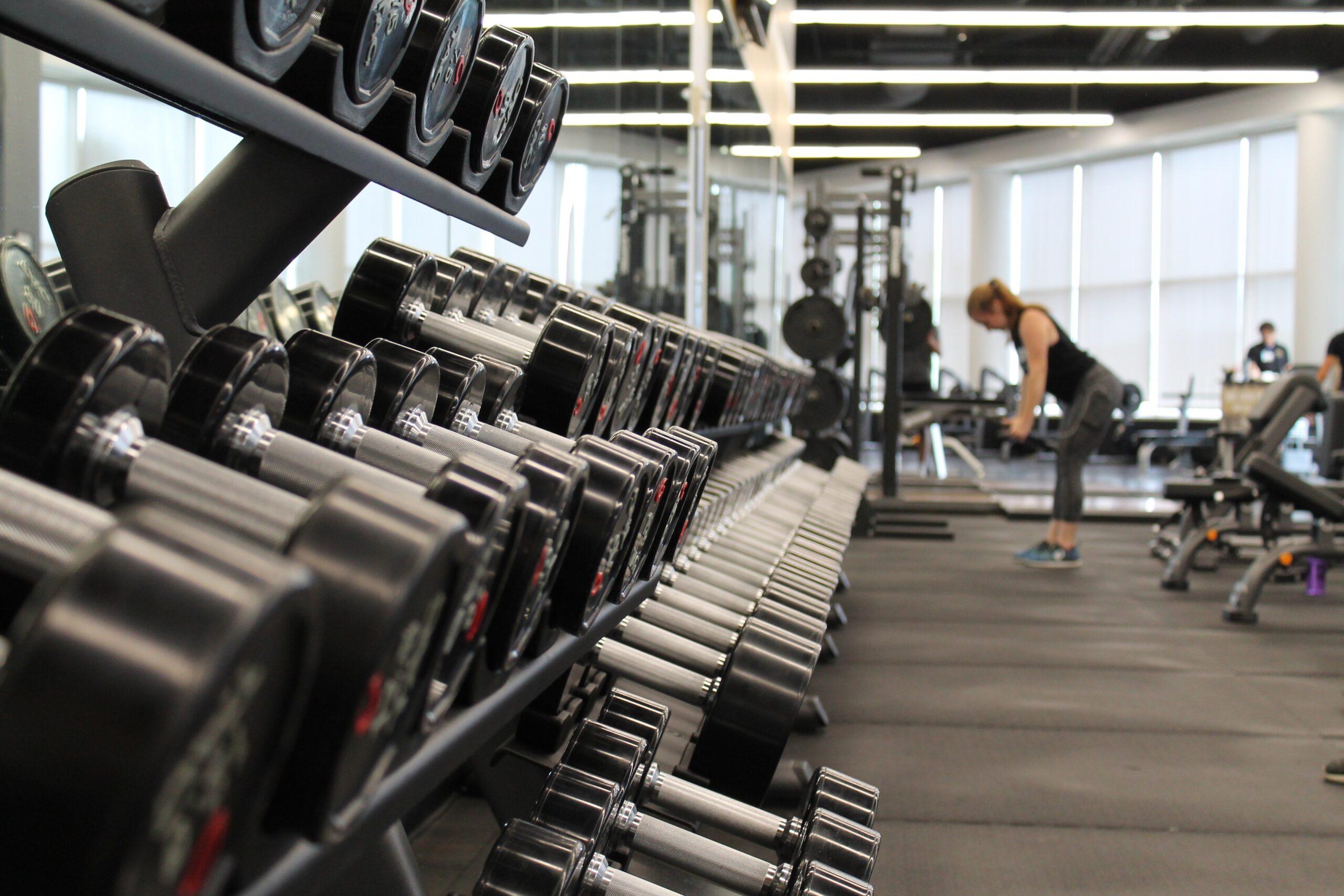 No enrolment weightlifting equipment